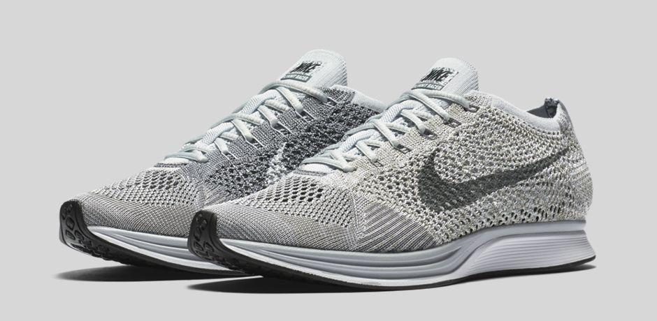 42a3dce8e6751 ... promo code for nike flyknit racer pure platinum cool grey main.